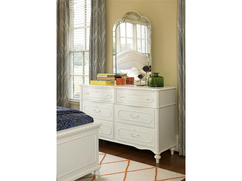 Bellamy Glass Frame Mirror - Avail in Off-White - Smartstuff -usa baby