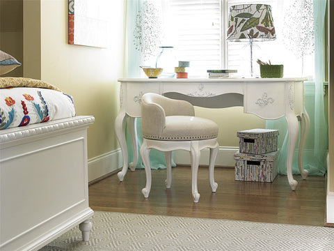 Bellamy Journaling Vanity Desk - Avail in Off-White - Smartstuff -usa baby