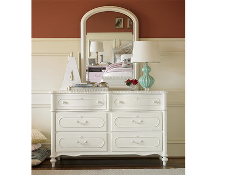 Bellamy Wood Frame Mirror - Avail in Off-White - Smartstuff -usa baby
