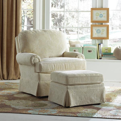Braxton Swivel Glider - Avail in Over 80 Fabrics - Best Chairs -usa baby