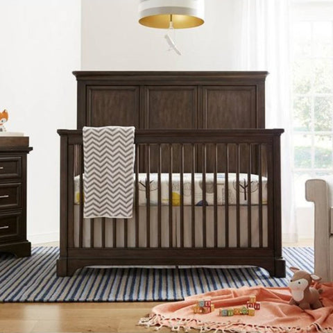Chelsea Square Crib - Avail in Light or Dark Stain - Stone & Leigh -usa baby