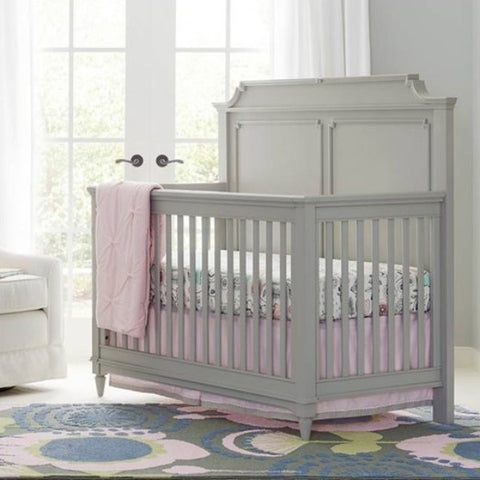 Clementine Court Crib - Avail in Grey or White - Stone & Leigh -usa baby