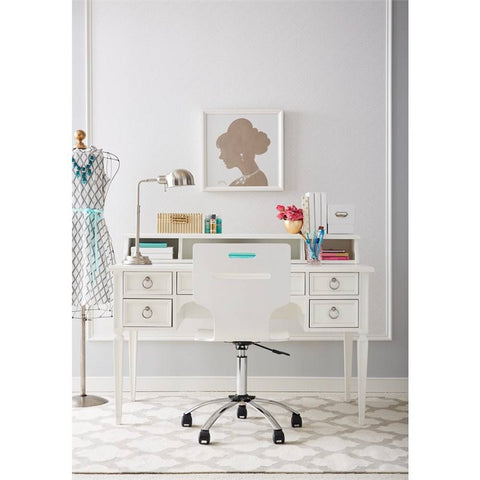 Clementine Court Desk - Avail in Grey or White - Stone & Leigh -usa baby