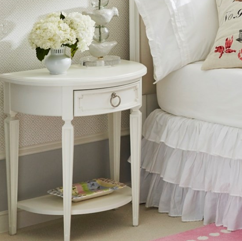 Clementine Court 1 Drawer Nightstand - Avail in Grey or White - Stone & Leigh -usa baby