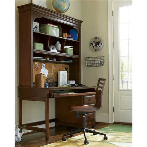 Classics Desk - Avail in White, Cherry or Medium Stain - Smarstuff -usa baby