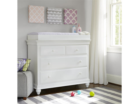 Classics Single Dresser - Avail in White, Cherry or Medium Stain - Smarstuff -usa baby