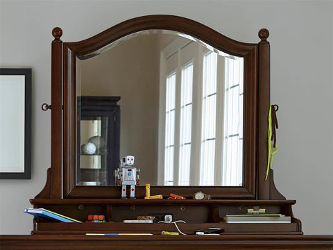 Classics Tilt Mirror - Avail in White, Cherry or Medium Stain - Smarstuff -usa baby