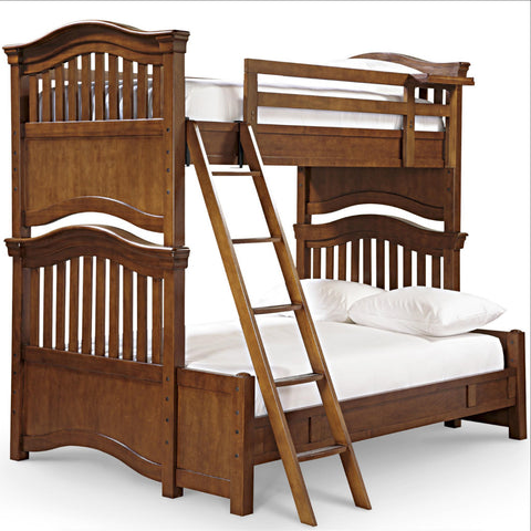 Classics Bunk Bed Twin Over Full - Avail in White, Cherry or Medium Stain - Smarstuff -usa baby