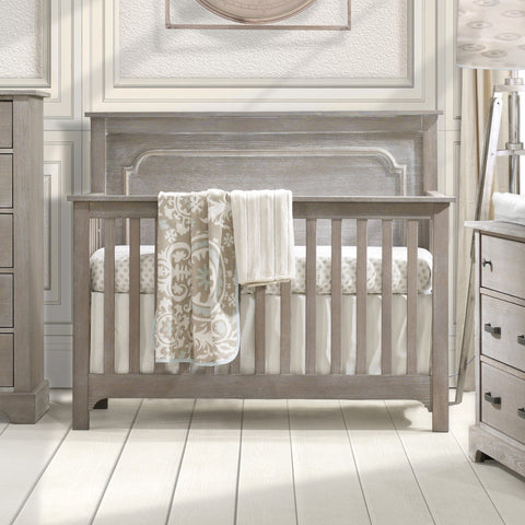 Emerson Crib - Avail in White, Sugar Cane, Owl, or Mink - Nest -usa baby