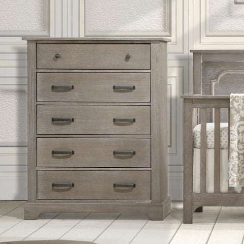 Emerson Chest - Avail in White, Sugar Cane, Owl, or Mink - Nest -usa baby