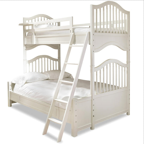 Genevieve Bunk Bed- Twin over Full - Avail in Off-White - Smartstuff -usa baby