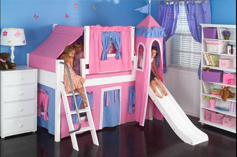 Custom Play Loft w/ Ladder - Over 100 Custom Options - Maxtrix -usa baby