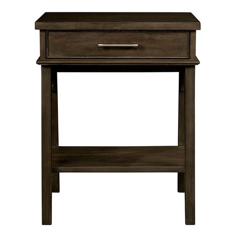 Chelsea Square 1 Drawer Nightstand - Avail in Light or Dark Stain - Stone & Leigh -usa baby