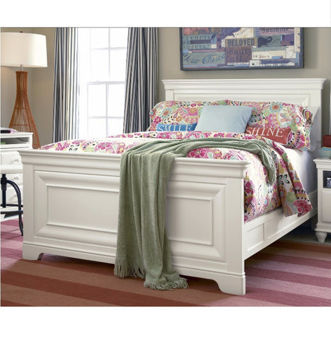 Classics Full Panel Bed - Avail in White, Cherry or Medium Stain - Smarstuff -usa baby