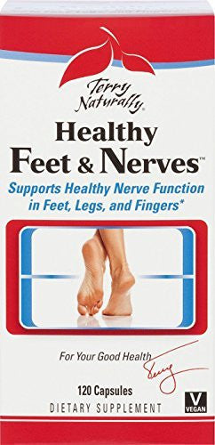 Healthy Feet & Nerves EuroPharma (Terry Naturally) 120 Caps