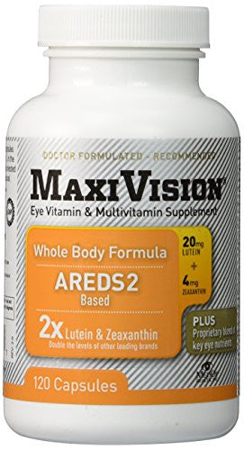 MedOp MaxiVision Whole Body Formula - 120 Capsules