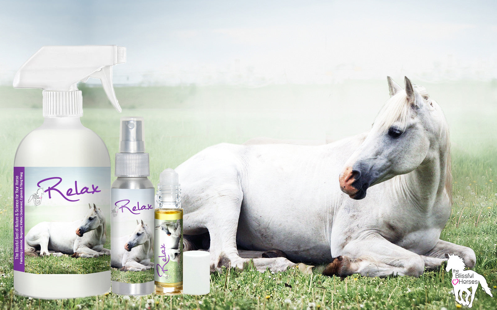 RELAX AROMATHERAPY FOR SCARED HORSES