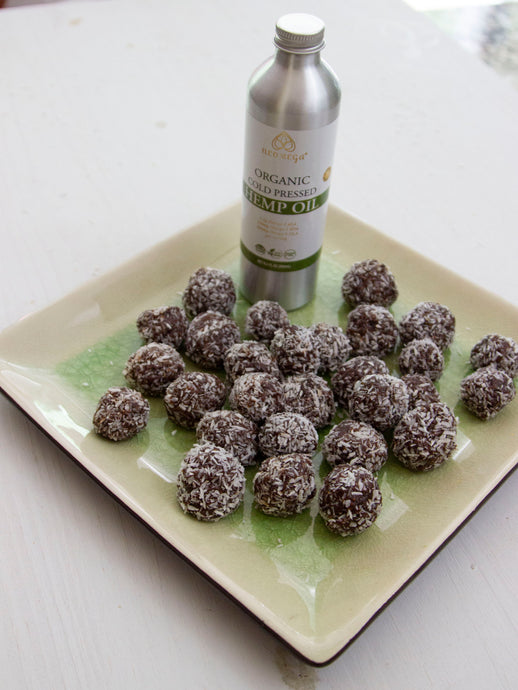 Hemp Cocoa Energy Balls