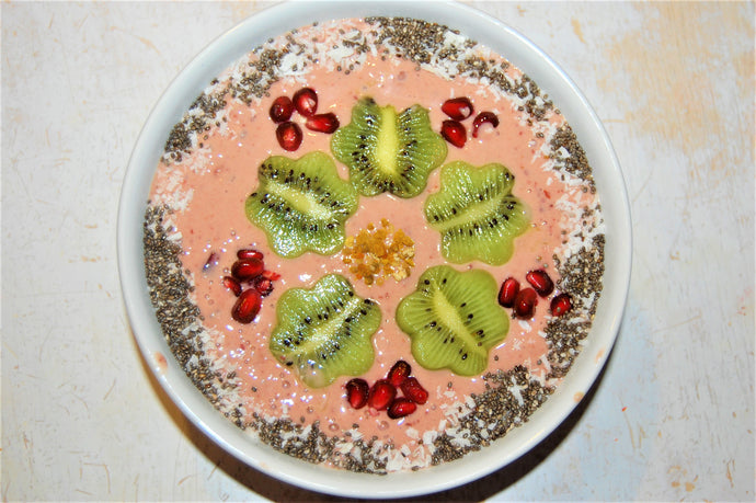 Cherry-Berry Smoothie Bowl