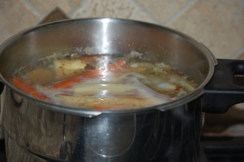 bone broth, vegetable soup, immune support, organic broth, collagen