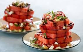 july 4 recipe, watermelon salad, keto recipe, vegan recipe, avocado oil