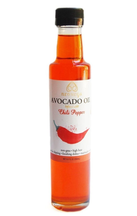 Chili Infused Avocado oil 8 oz (250 Ml)