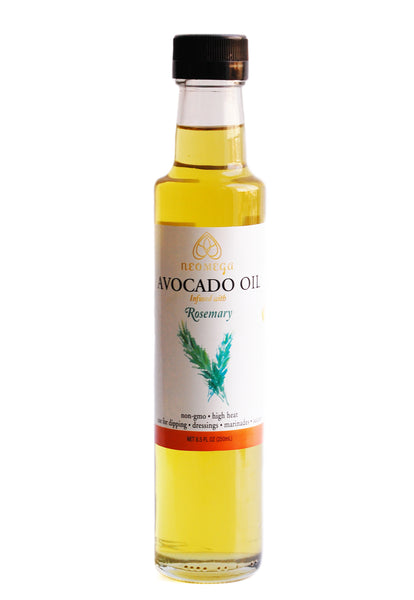 Rosemary Infused Avocado oil 8 oz (250 ML)