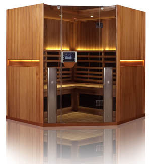 Clearlight Sanctuary C 4 Person Infrared Sauna