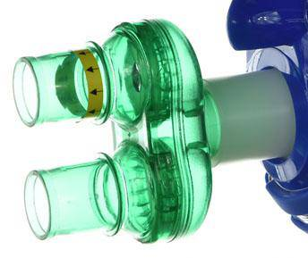 Maxx O2 Mask Green Valves - EWOT