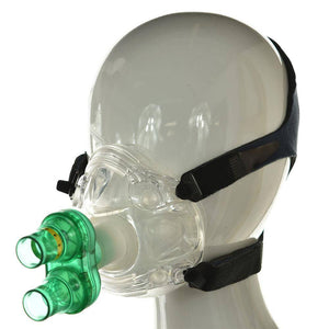 Exercise With Oxygen Mask - Maxx 02 EWOT Mask - High-flow Nonrestricted - EWOT