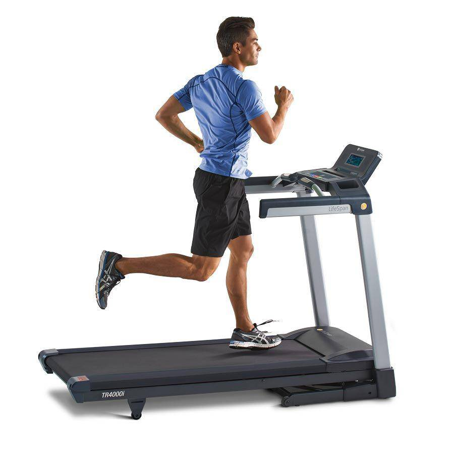 LifeSpan TR4000i Folding Treadmill - EWOT