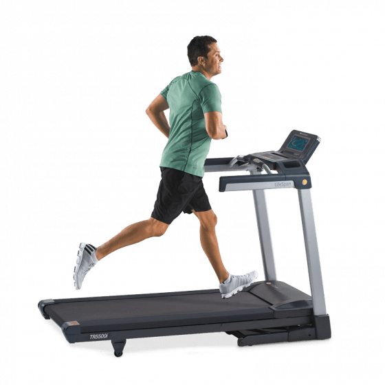 LifeSpan TR5500i Folding Treadmill - EWOT