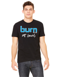Burn Unisex Location Tee Black - $8.00 ea.