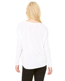 Burn Long Sleeve Flowy Location Top - White - $15.00 ea.