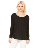 Burn Long Sleeve Flowy Location Top - Black - $15.00 ea.