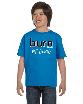 Burn Youth Location Tee - Turquoise - $6.00 ea.