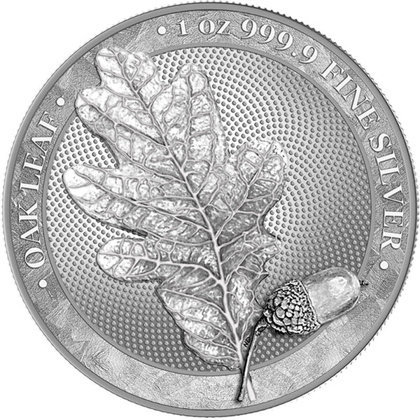 2019 Germania Mint Maple Leaf .999 Silver Round