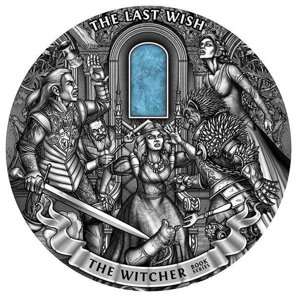 2019 Niue 1 Kilogram Witcher The Last Wish High Relief Silver Coin
