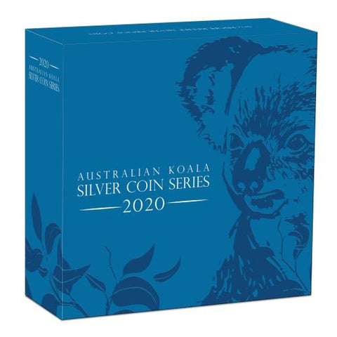 2020 Koala High Relief Silver Proof Coin