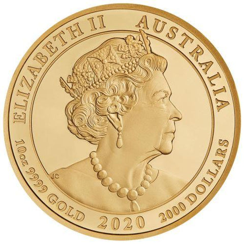 2020 Australia Jewelled Tiger Gold Proof Coin