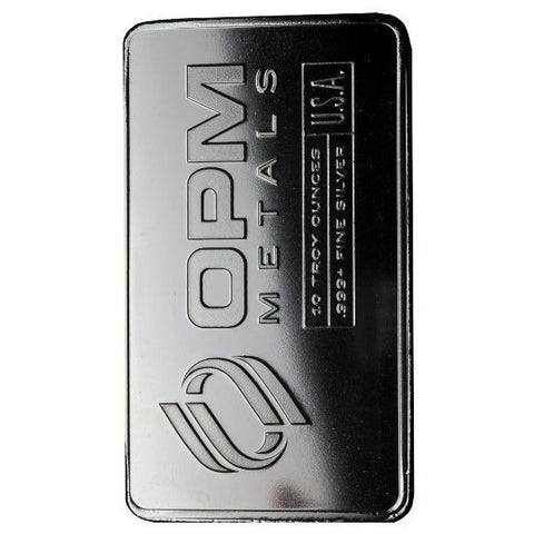 10 Ounce Ohio Precious Metals .999 Silver Bar - Art in Coins