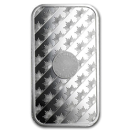10 Ounce Sunshine Mint .999 Silver Bar