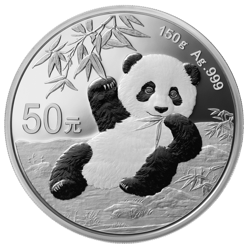 2020 China 150 Gram Panda Commemorative Silver Proof Coin