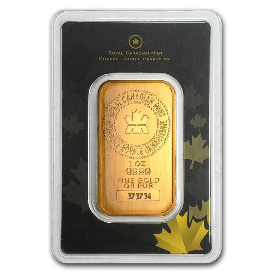 1 Ounce RCM Gold Bar - Sealed Assay - Art in Coins