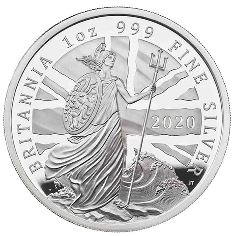 2020 Great Britain 1 Ounce Silver Proof Coin