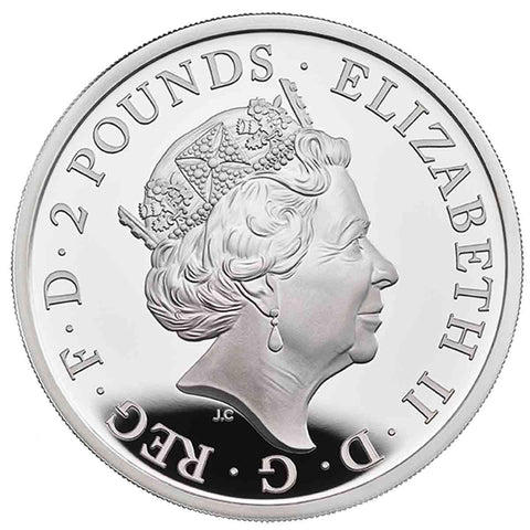 2020 UK 1 Ounce Silver Proof Coin