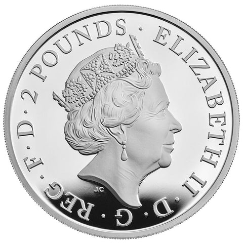 Queen's Beasts White Horse of Hanover Silver Proof Coin