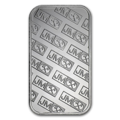 1 Ounce Johnson Matthey .999 Silver Bar