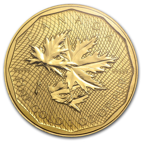 2012 RCM 1 Ounce .99999 Maple Leaf Gold Coin - Sealed Assay