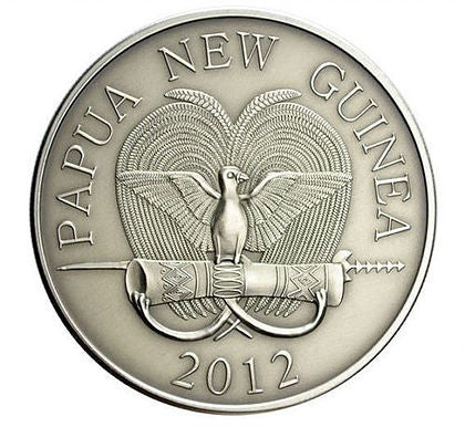 2012 Papua New Guinea 1 Ounce Spiny Anteater Silver Proof Coin